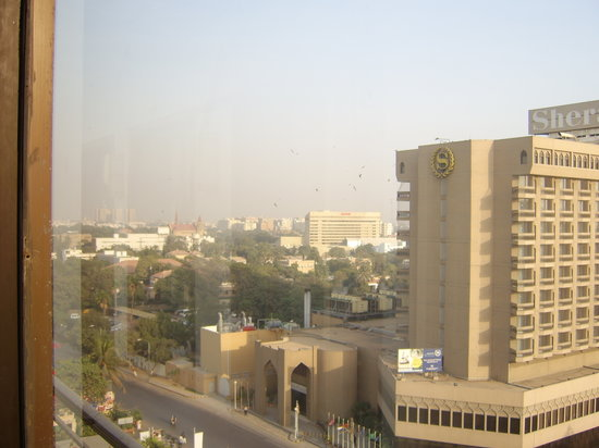 Karachi from my hotel room 