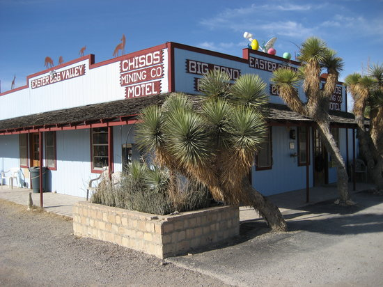 Photo of Easter Egg Motel Terlingua