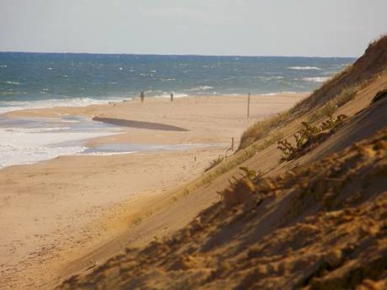 Wellfleet, : Lecount Hollow Beach
