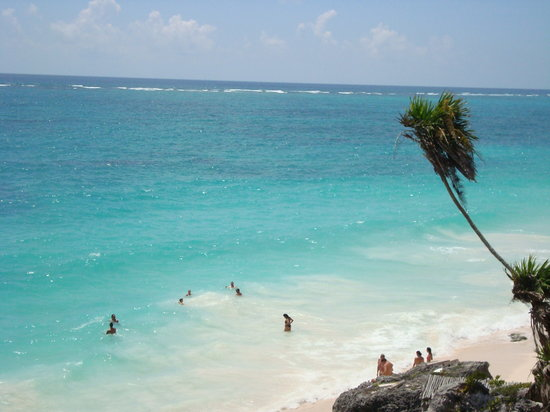 Tulum, Mexique : beach
