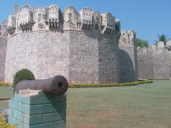 Hyderabad, Indien: Golkonda Fort