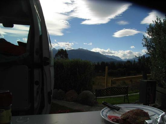 Fiordland Great Views Holiday Park: having Diner
