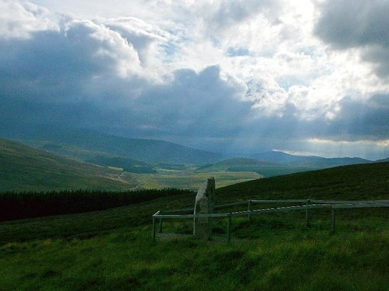 Scotland, UK: Travelling towards Tomintoul