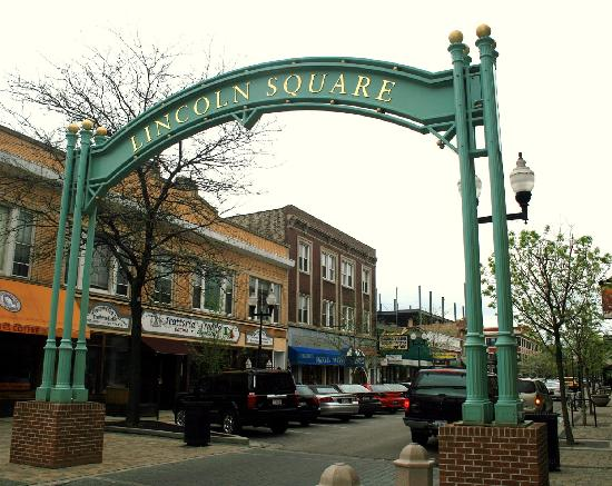 Lincoln Square Entrance Arch Picture Of Chicago