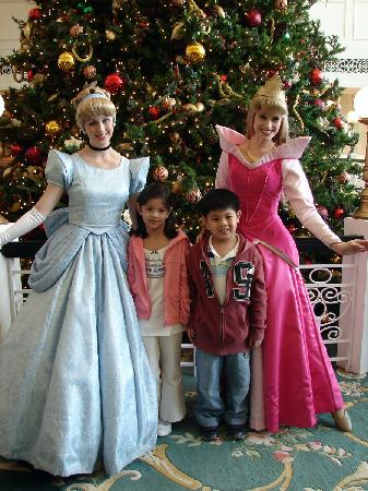 With the Princesses at Hong Kong Disneyland Hotel, Hong Kong