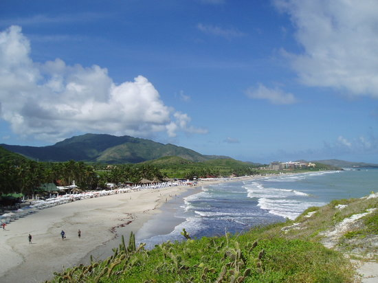 Margarita Island, Venezuela: Beach
