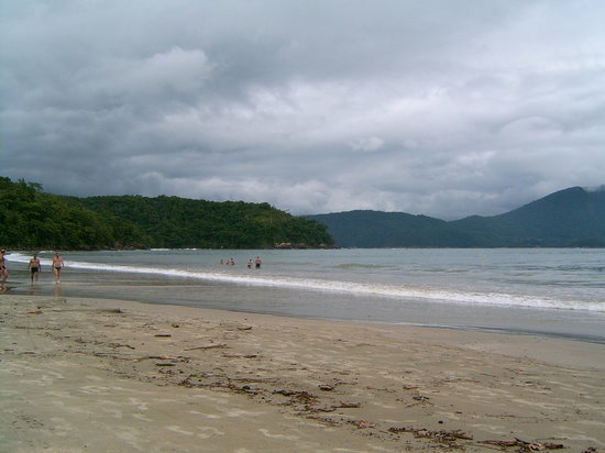 Ubatuba, SP: Praia da Fortaleza