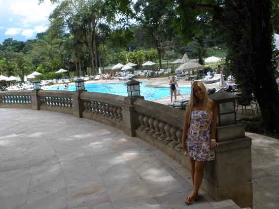 Ouro Minas Grande Hotel and Spa: the pool