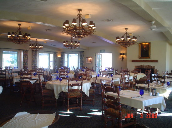 The Inn At Furnace Creek Dining Room Death Valley