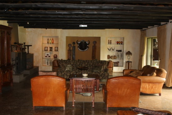 Sabi Sabi Bush Lodge: Lounge