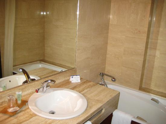 Chambre picture of troyes aube tripadvisor for Salle de bain 3 5m2