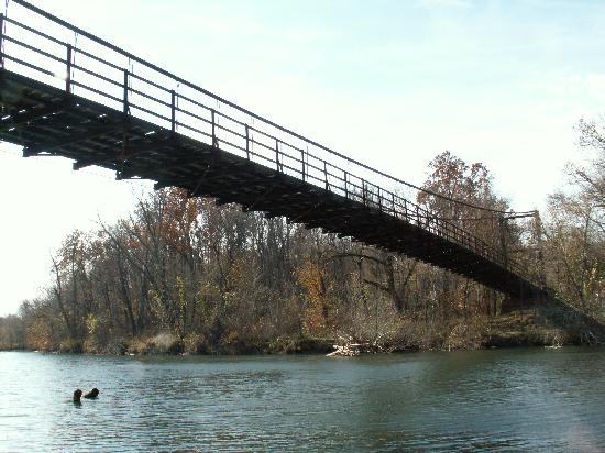 ‪‪Osage Beach‬, ‪Missouri‬: Swinging Bridge‬