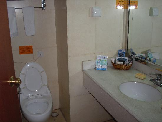 Canaan International Hotel: toilet