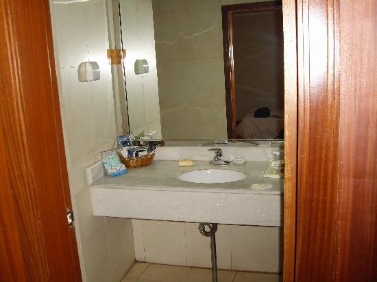 Canaan International Hotel: sink