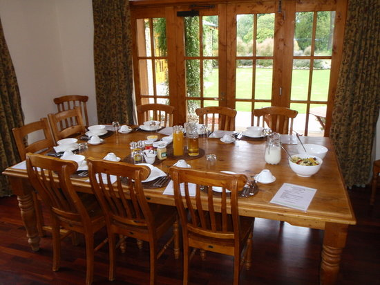 Wanaka Homestead Lodge and Cottages: Breakfast