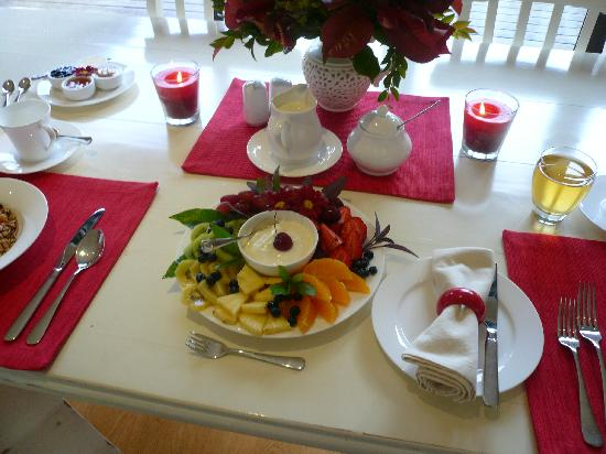 Fresh Fruit For Breakfast Picture Of Accolades Boutique