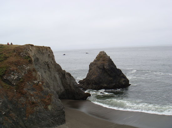 Guerneville, Калифорния: boon - picnic by the nearby Pacific Ocean