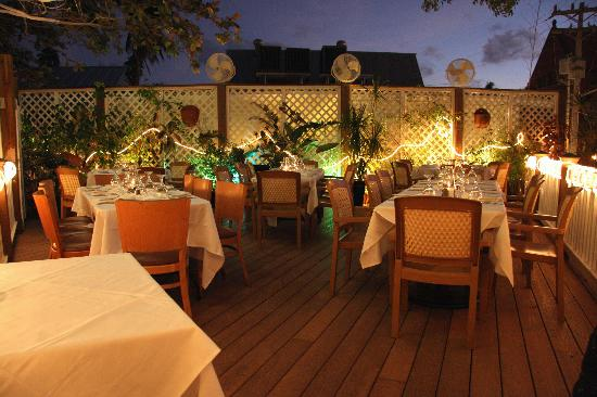 Rooftop Cafe Key West Thanksgiving