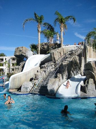 Palm Canyon Resort & Spa: Pool Slides