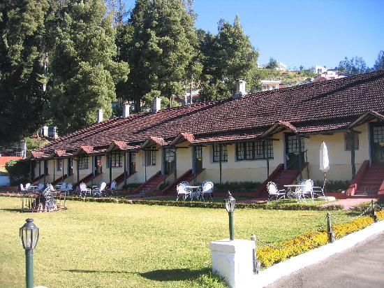 Taj Savoy Hotel, Ooty: The row of garden cottages