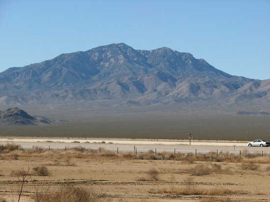 Primm, NV: looking across I-15
