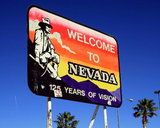 Nevada Road Billboard