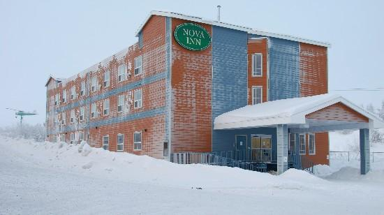Nova Inn, where I stayed in Inuvik