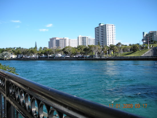 Boca Raton, FL: view from breakfast again