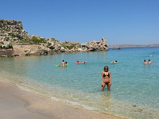 Island of Malta, Malta: paradise beach
