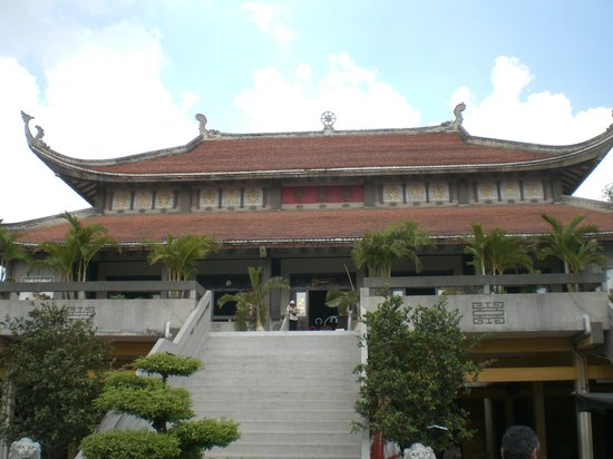 Ho Chi Minh-byen, Vietnam: buddhist temple