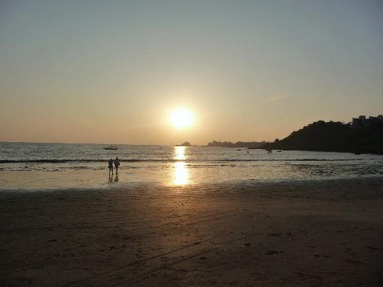 private beaches in goa. to a private beach in Goa