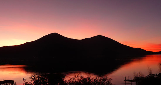 Photo taken from Paradise Beach House at Clearlake.