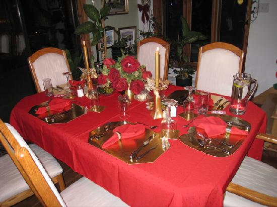 nice table setting picture of la vue royale saint