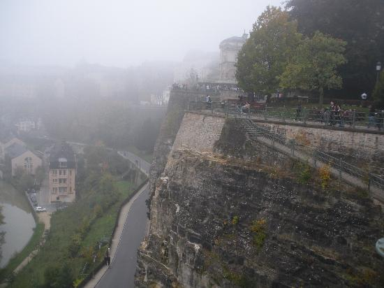 Luxembourg: It was a foggy day
