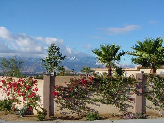 Living Waters Spa: view of mountains from Spa