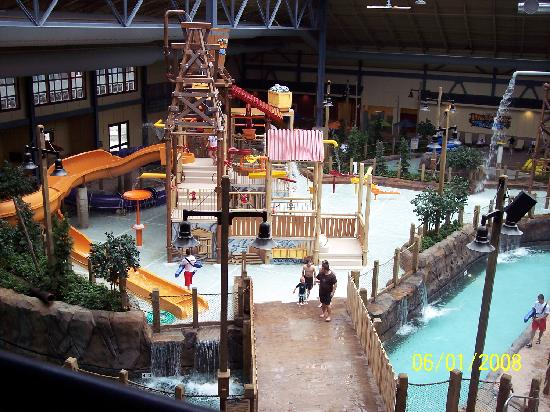 View Of Part Of The Waterpark Picture Of Silver Rapids