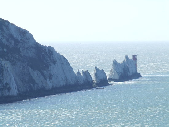 ‪‪Cowes‬, UK: The Needles‬