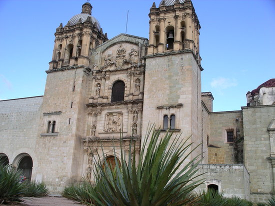 Templo de Santo Domingo en Oaxaca