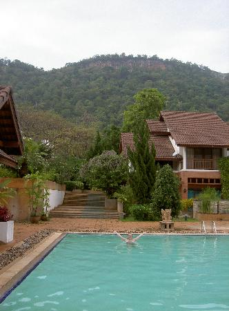 Pak Chong, Tayland: The Big Pool by the Villa's