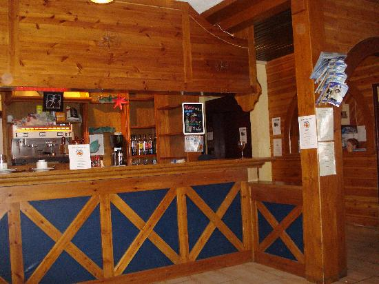 Risoul, France : Bar & Reception Area