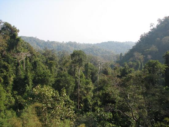 Chiang Dao, Thailand: View from temple