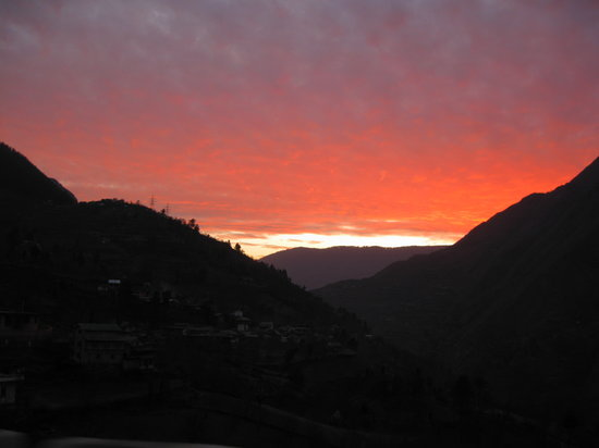 Sunset at Manali