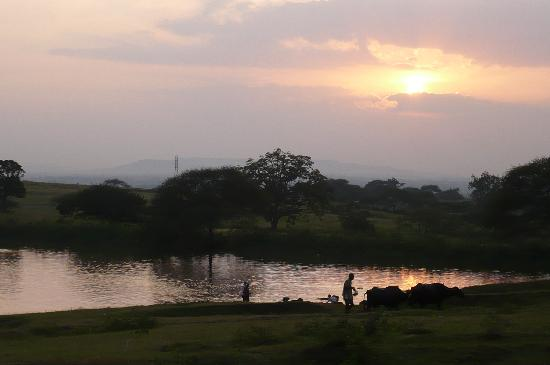 Belgaum, India: sunset