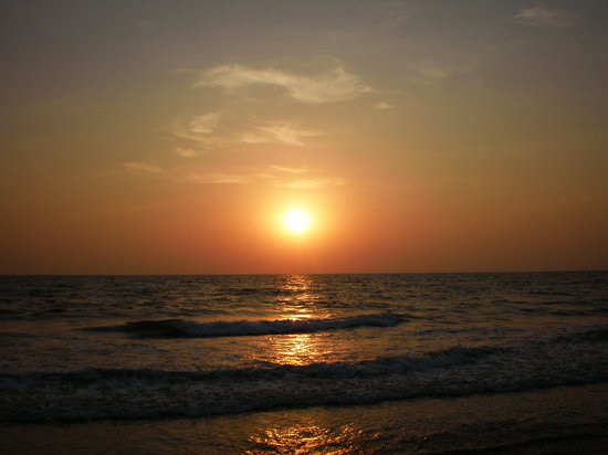 , : Sunset in Goa