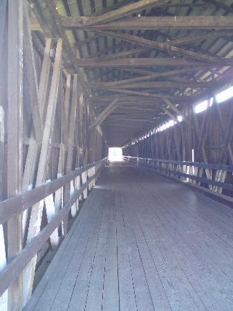 Historic covered bridge picture of knights ferry for Knights bridge