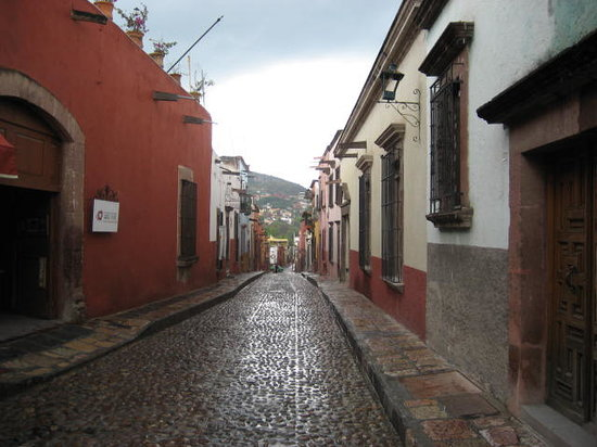 San Miguel de Allende, Mexiko: Street Scene