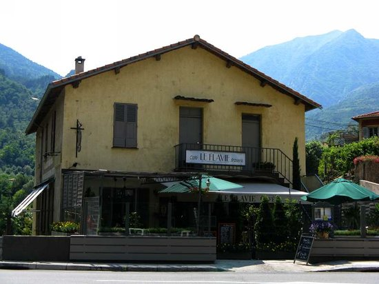 Breil-sur-Roya, France: Cafe brasserie le Flavie