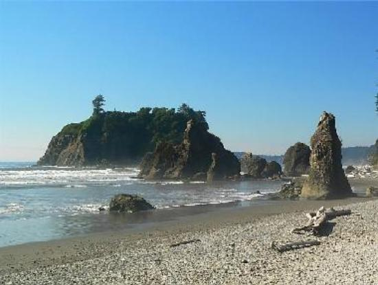 Summer afternoon at Ruby Beach