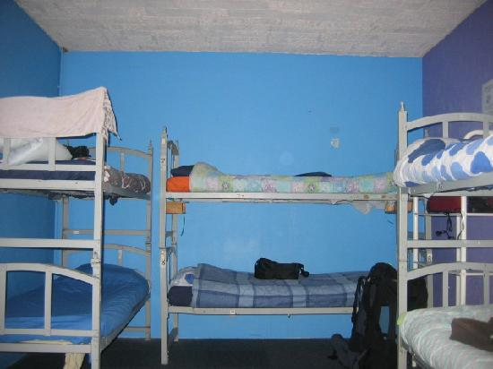 Oxford Backpackers Hostel: Beds, no ladders
