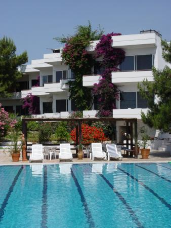 hotel saron apartments and pool